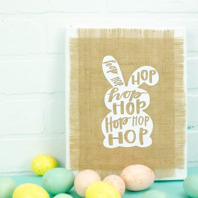 Fun DIY Cricut Easter Home Decor thumbnail