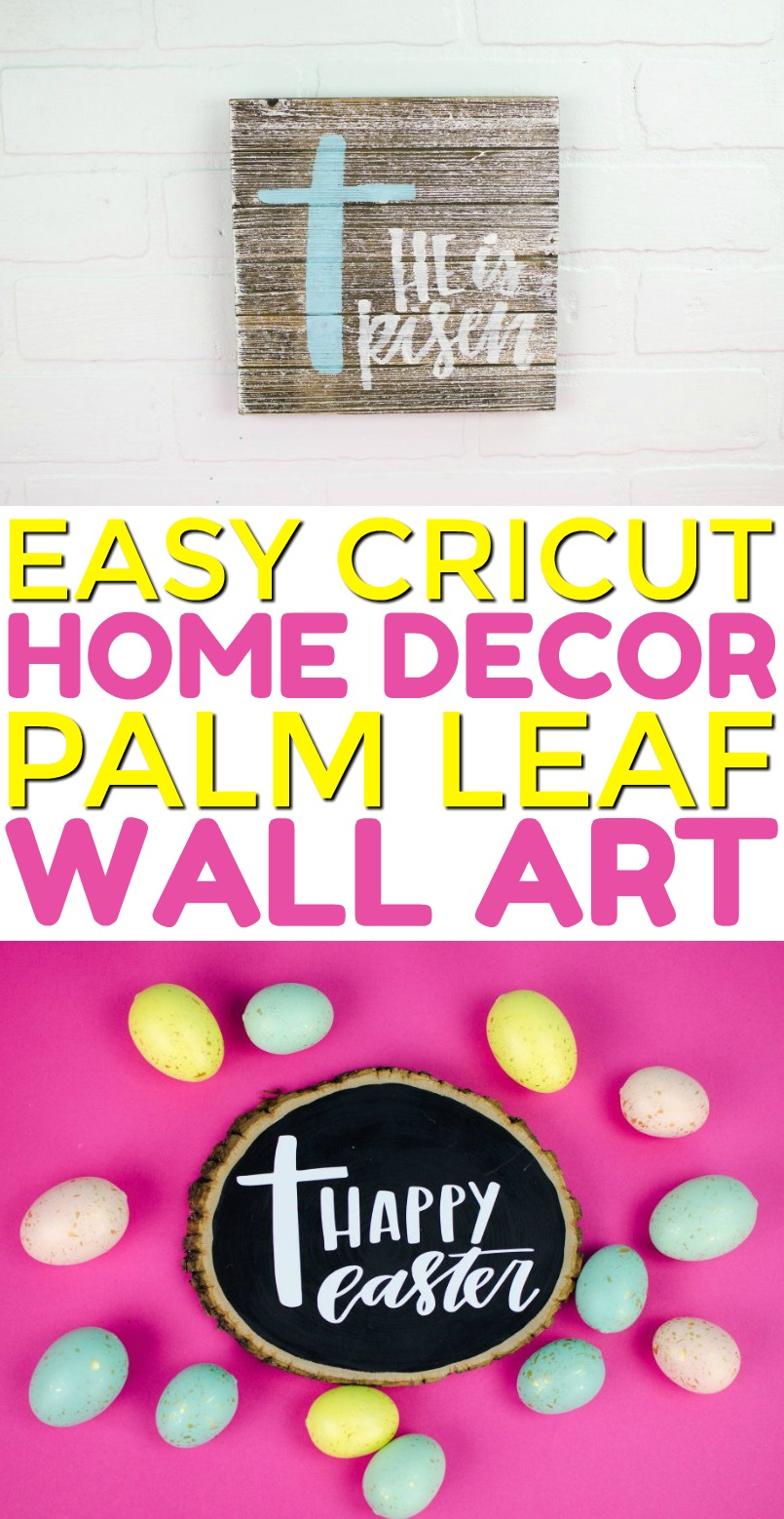 Cricut Easter Decor A Little Craft In Your Day