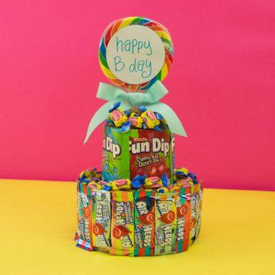 DIY Candy Cake thumbnail