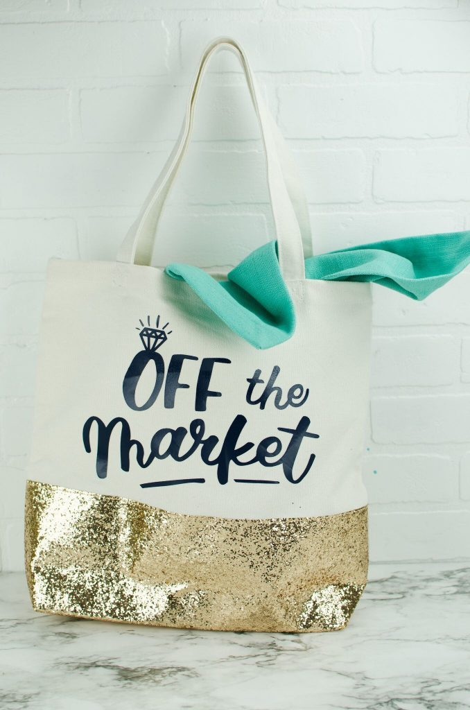 "DIY ""Off The Market"" Tote Bag"