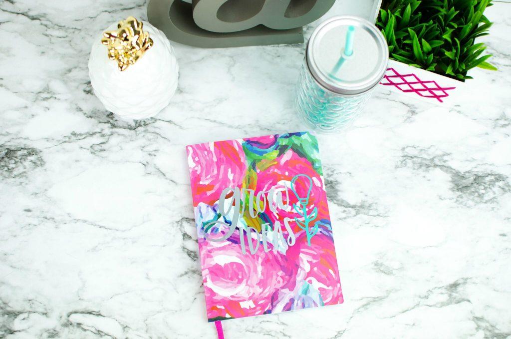 "DIY ""Grow Ideas"" Notebook"