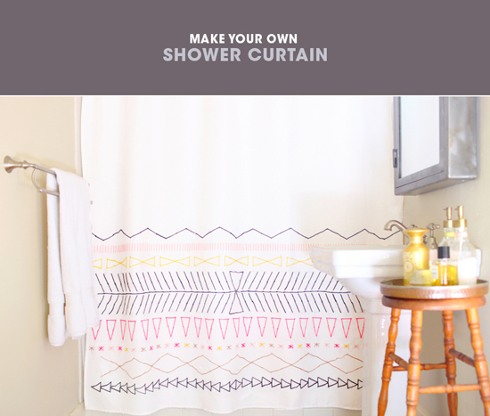 Make It Shower Curtain