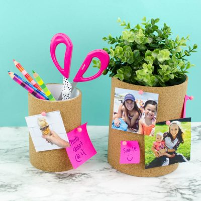 DIY Cork Board Containers thumbnail