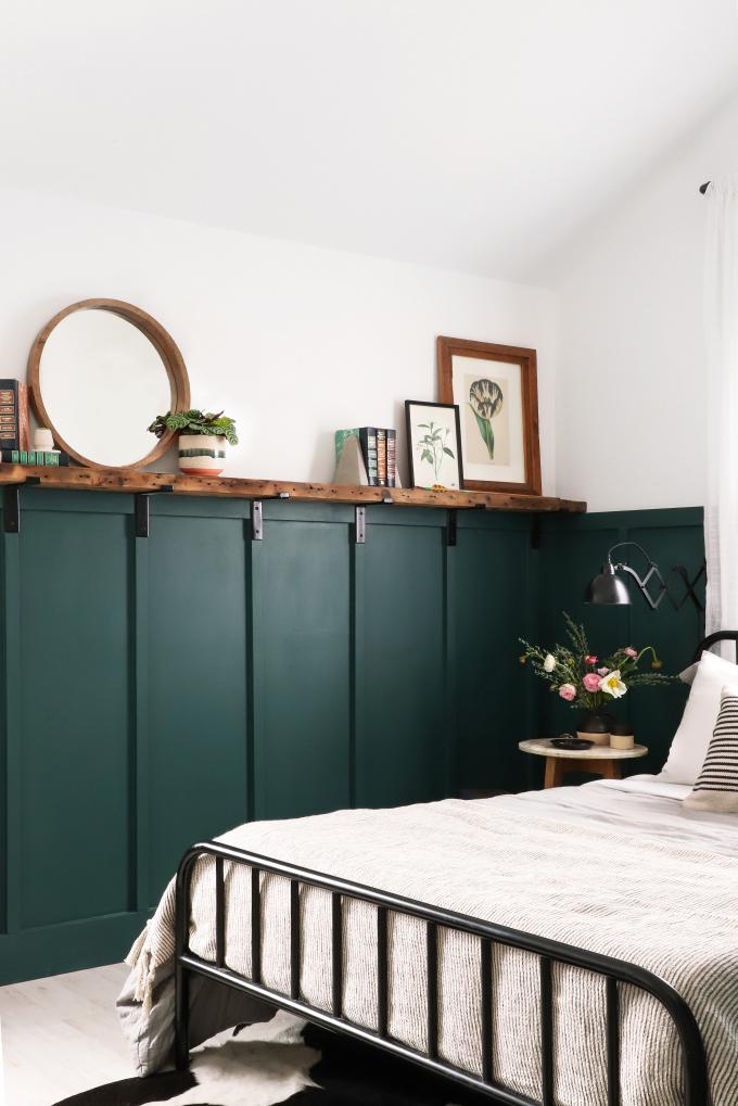 DIY Home Board & Batten Wall
