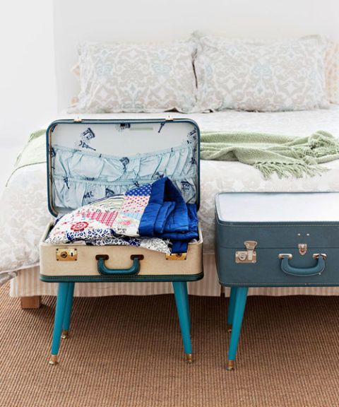 DIY a Suitcase Table