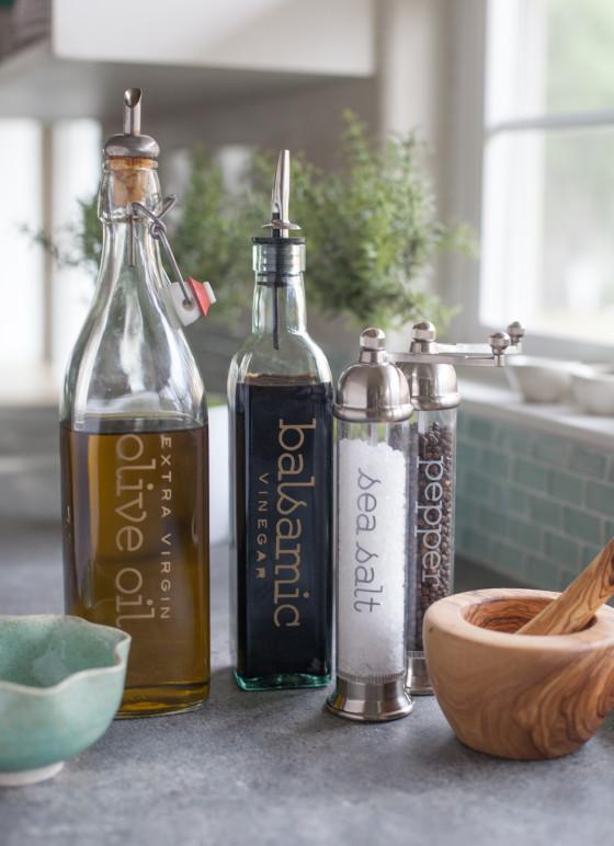 Stylish Kitchen Labels