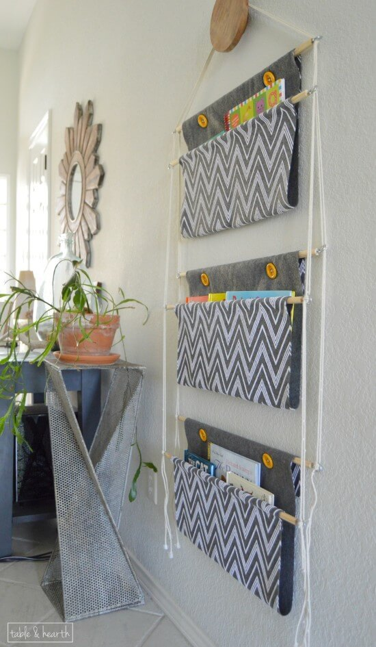 Hanging Book Storage