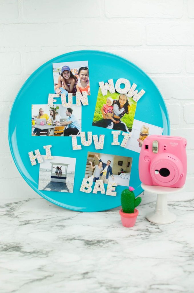Painted Magnetic Letters