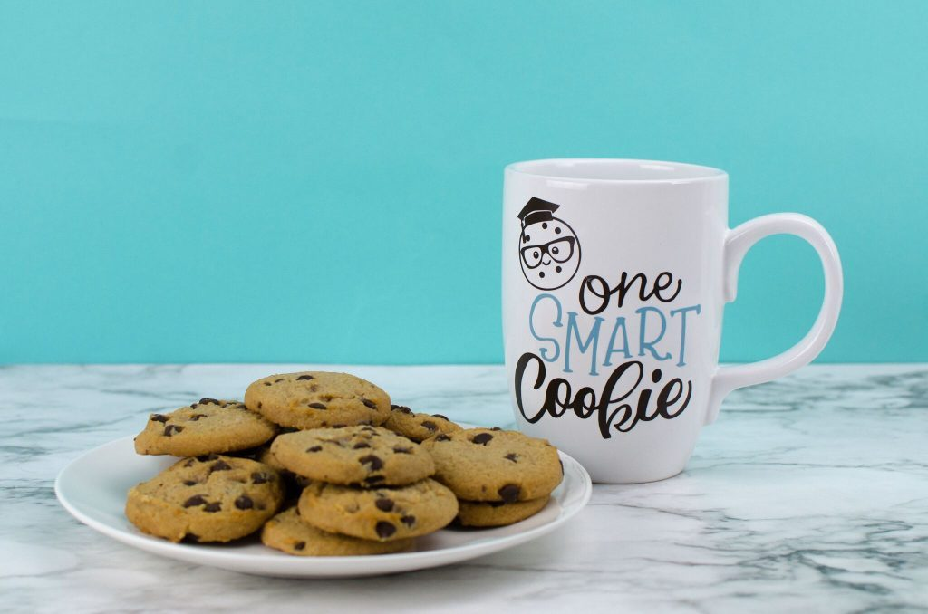DIY Graduation Gift - One Smart Cookie Mug