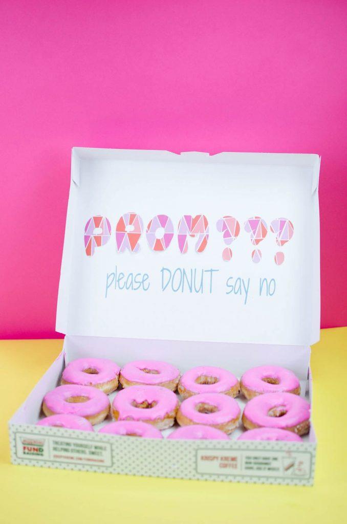 Donut Promposal