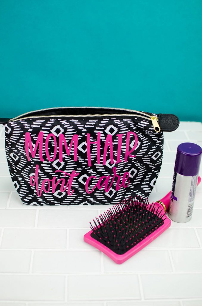 DIY Personalized Toiletry Bag