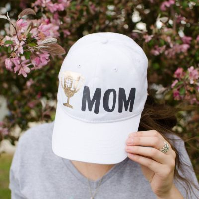 DIY Cricut Mother's Day Gift Idea – #1 Mom Hat thumbnail