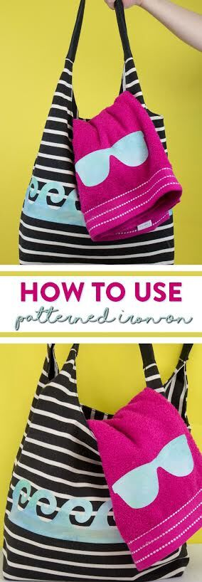 How To Use Cricut Patterned Iron-On