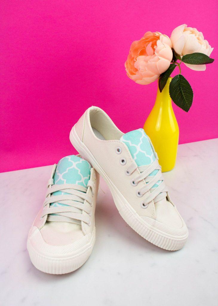 DIY Sneaker Revamp - Teen Craft Idea