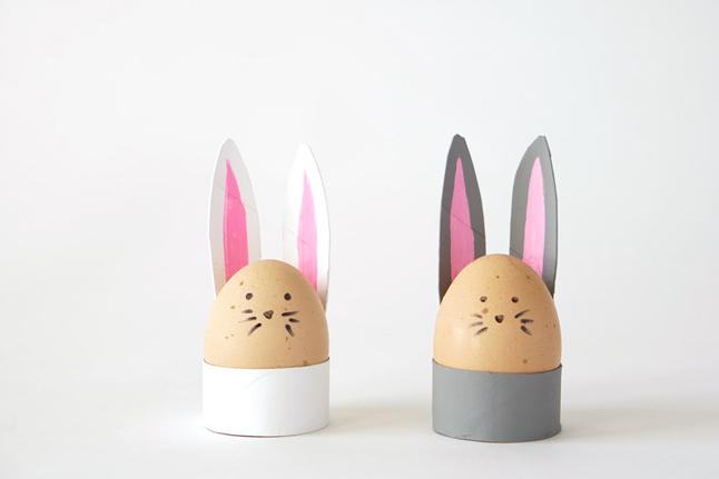 Roll Bunny Egg Holders