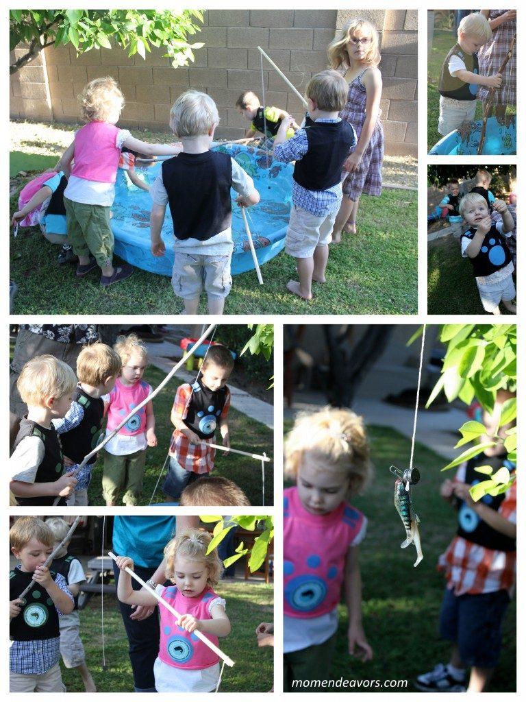 Backyard Fishing Activity