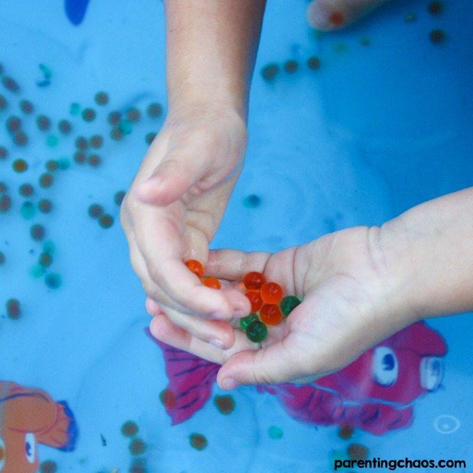 Water Beads Sensory Pool