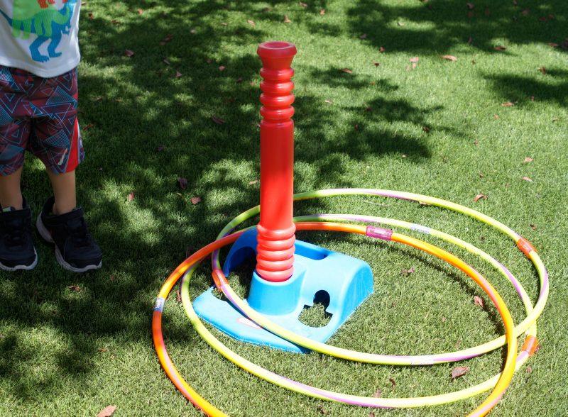 Play with Hula Hoops
