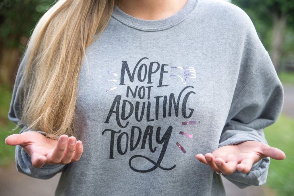 Funny DIY Sweatshirt