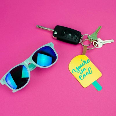 Cutting Leather With The Cricut Maker – DIY Keychain thumbnail