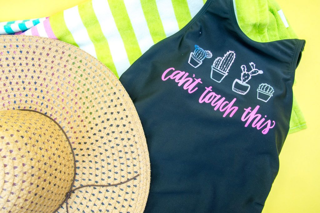 DIY Revamped Swimsuit