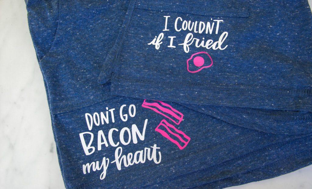 DIY Matching Pajama Set -BFF Gift Idea