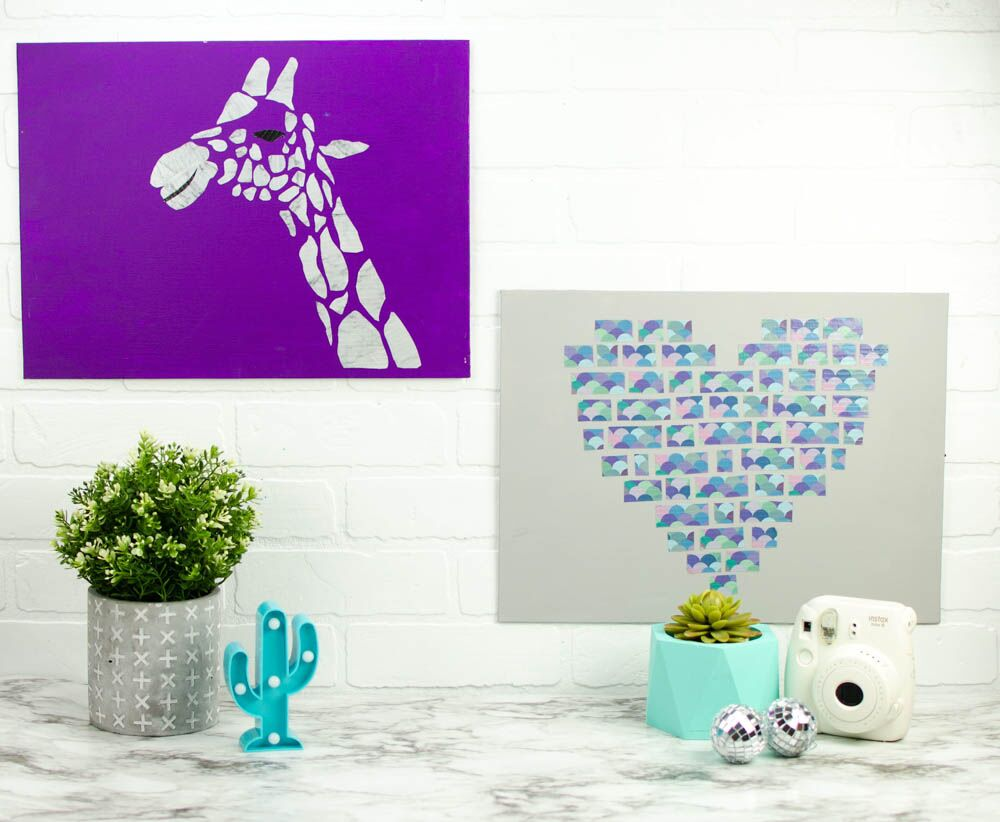 Duck Tape Canvases