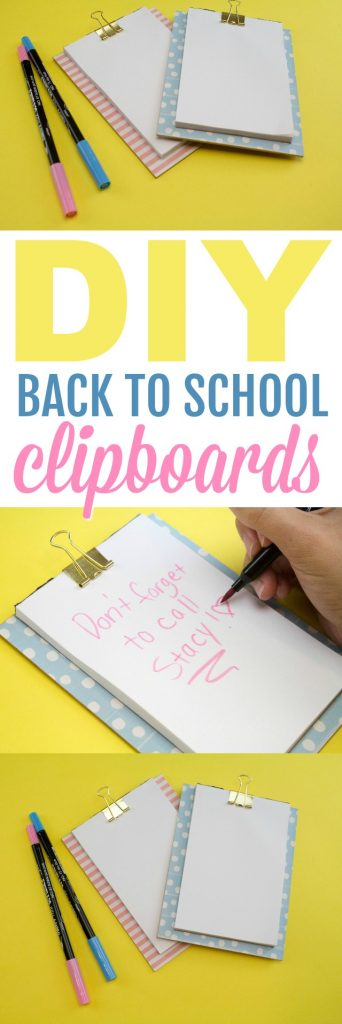 DIY Clipboards With Cricut Knife Blade