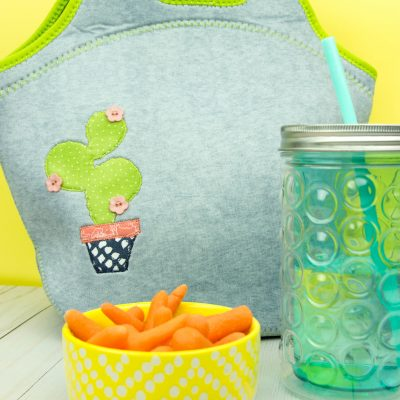 DIY Applique Lunch Bag thumbnail