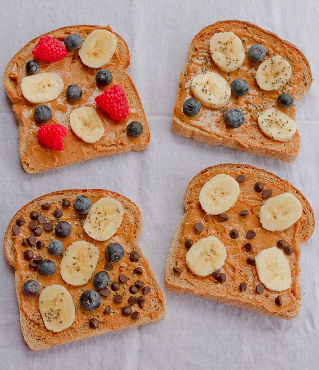 PEANUT BUTTER BREAKFAST TOAST