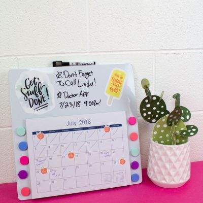 DIY Command Center – Back To School Organization thumbnail
