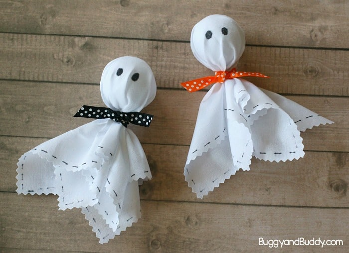 Friendly Ghost Craft for Halloween