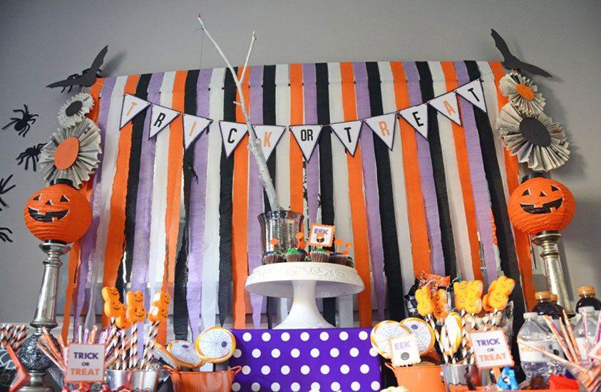 Easy DIY Kids Halloween Party Ideas