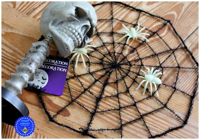Skeleton Spider Centerpieces