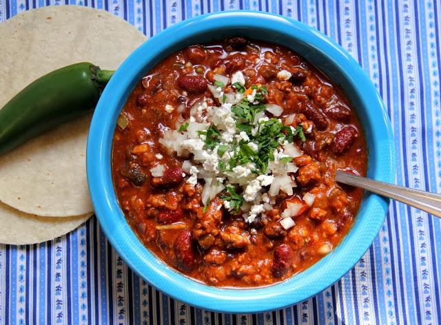 Roasted Poblano Pepper Chili