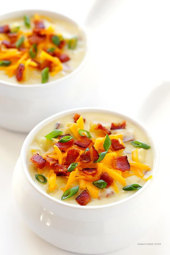 Slow Cooker Potato Soup