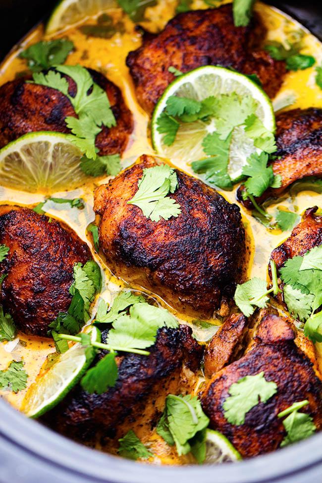 Creamy Cilantro Lime Chicken