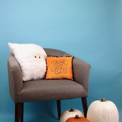 Simple DIY Halloween Pillows thumbnail