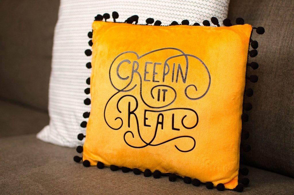 DIY Iron-On Pillow
