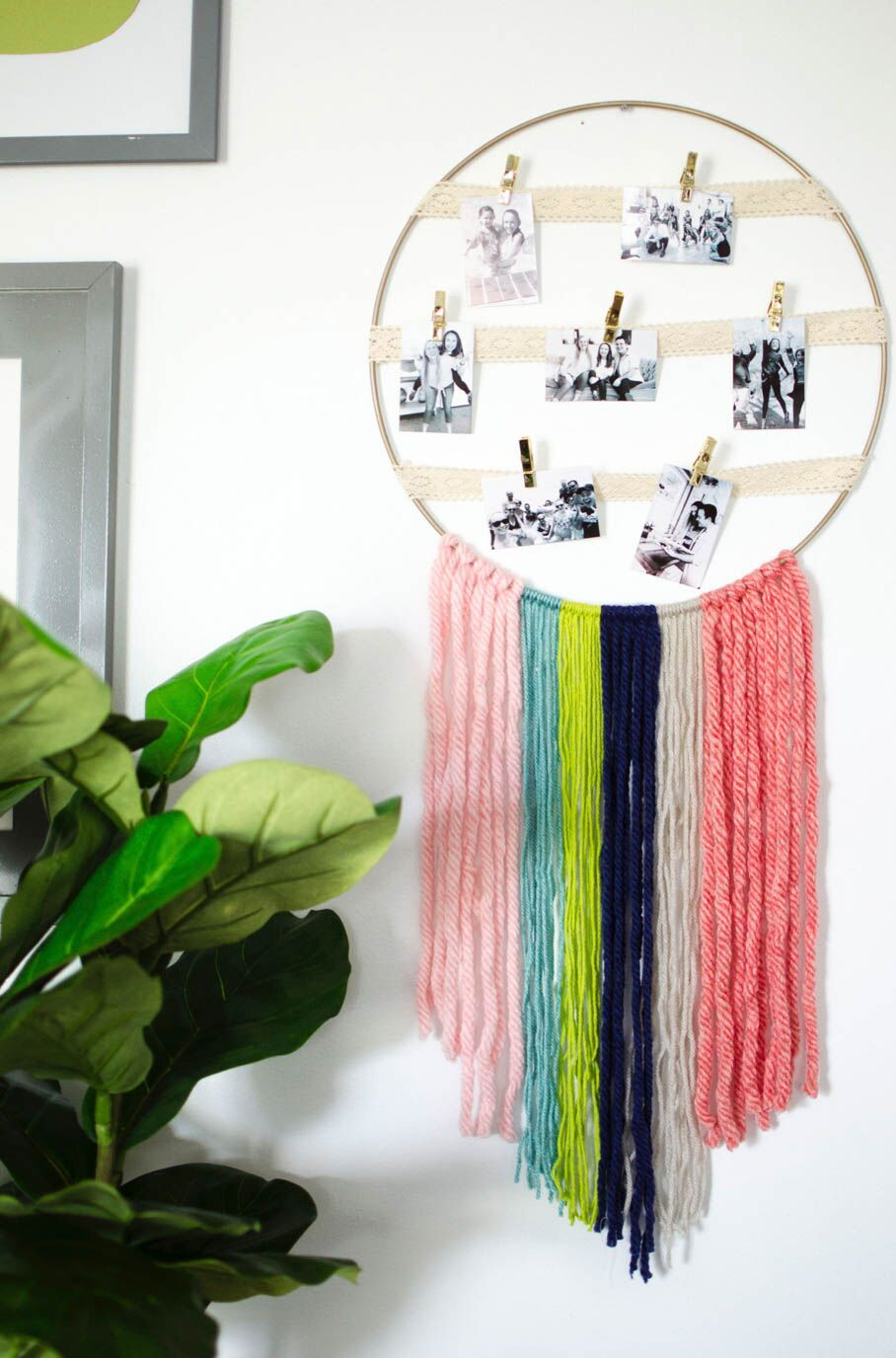 Yarn Crafts Room Decor