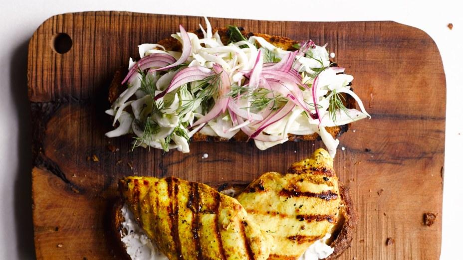 Curried Chicken Sandwich