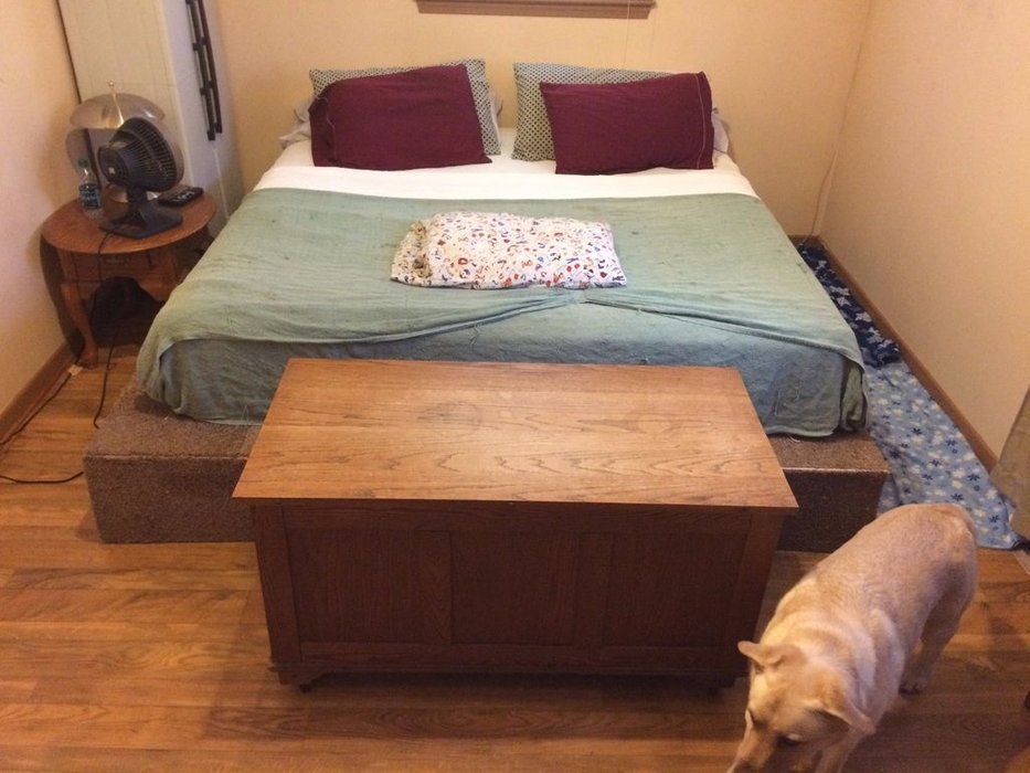 King Size Pallet Bed Project