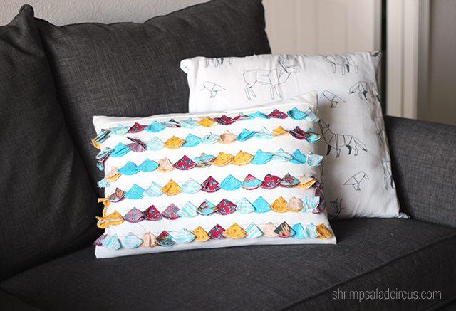 DIY Anthro-Inspired Jacare Tassel Pillow