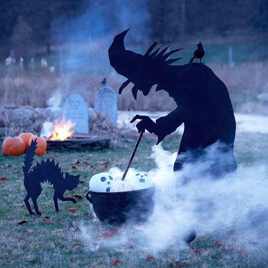 Witch Halloween Lawn Decoration