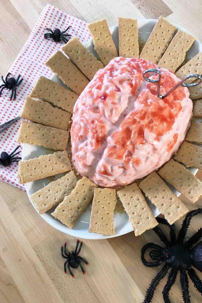 Cherry Cheesecake Brain Dip