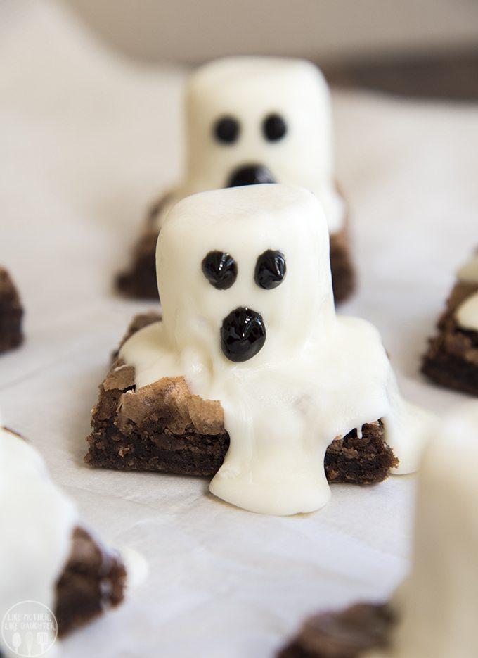 Ghost Brownies