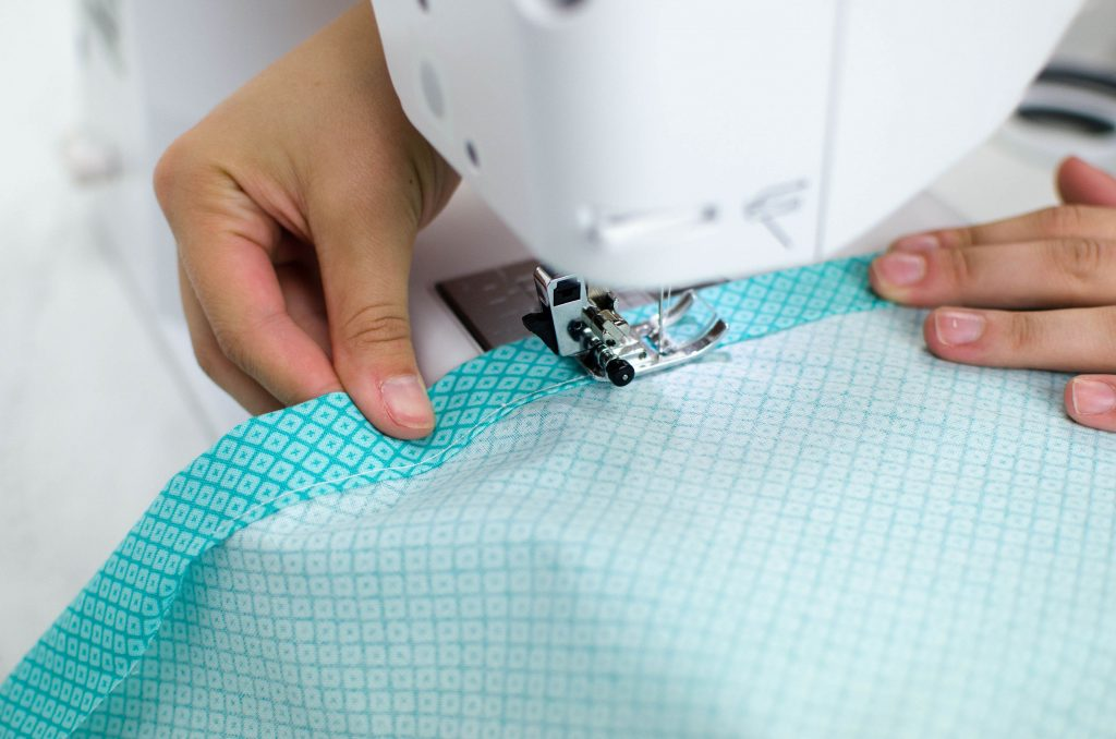 sewing your hem on your sewing machine