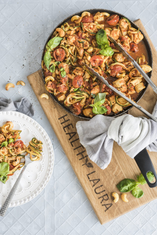 Chicken Tomato Zoodles