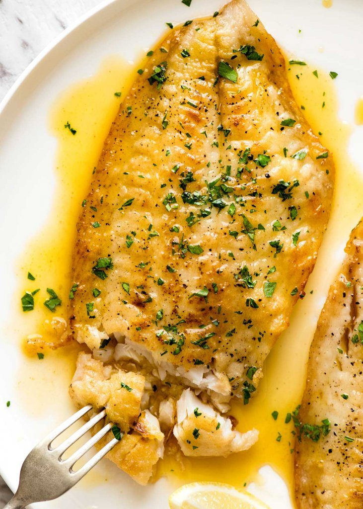 Killer Lemon Butter Sauce for Fish