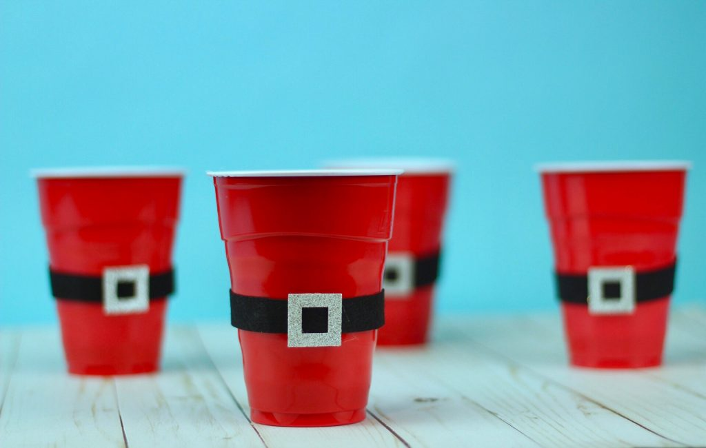 DIY Revamped Christmas Party Cups